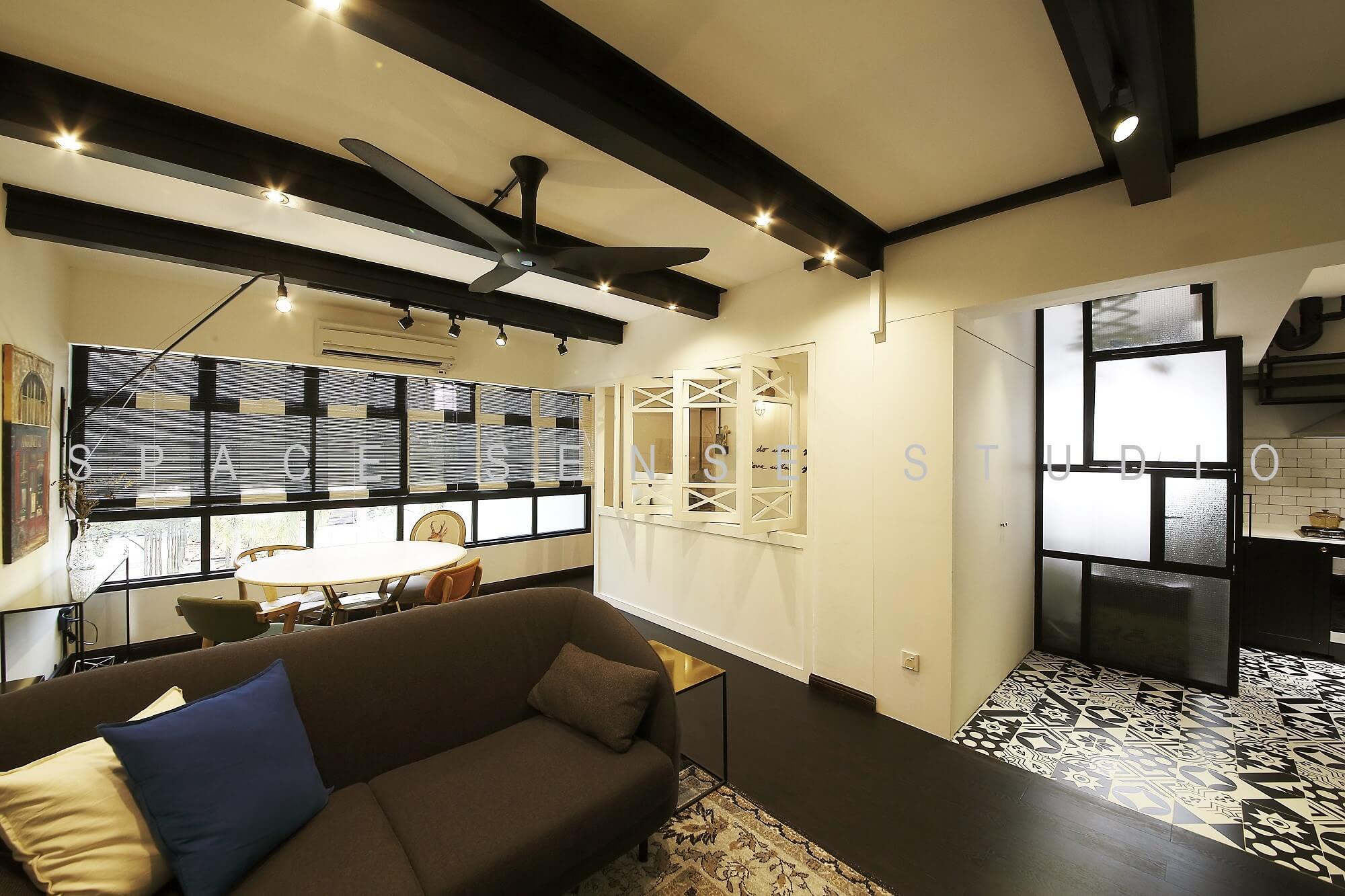 Design Tips for Small Homes from Popular Interior Designers- Lamp vs Overhead Light