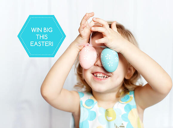 Easter activity with kids - Easter egg hunt