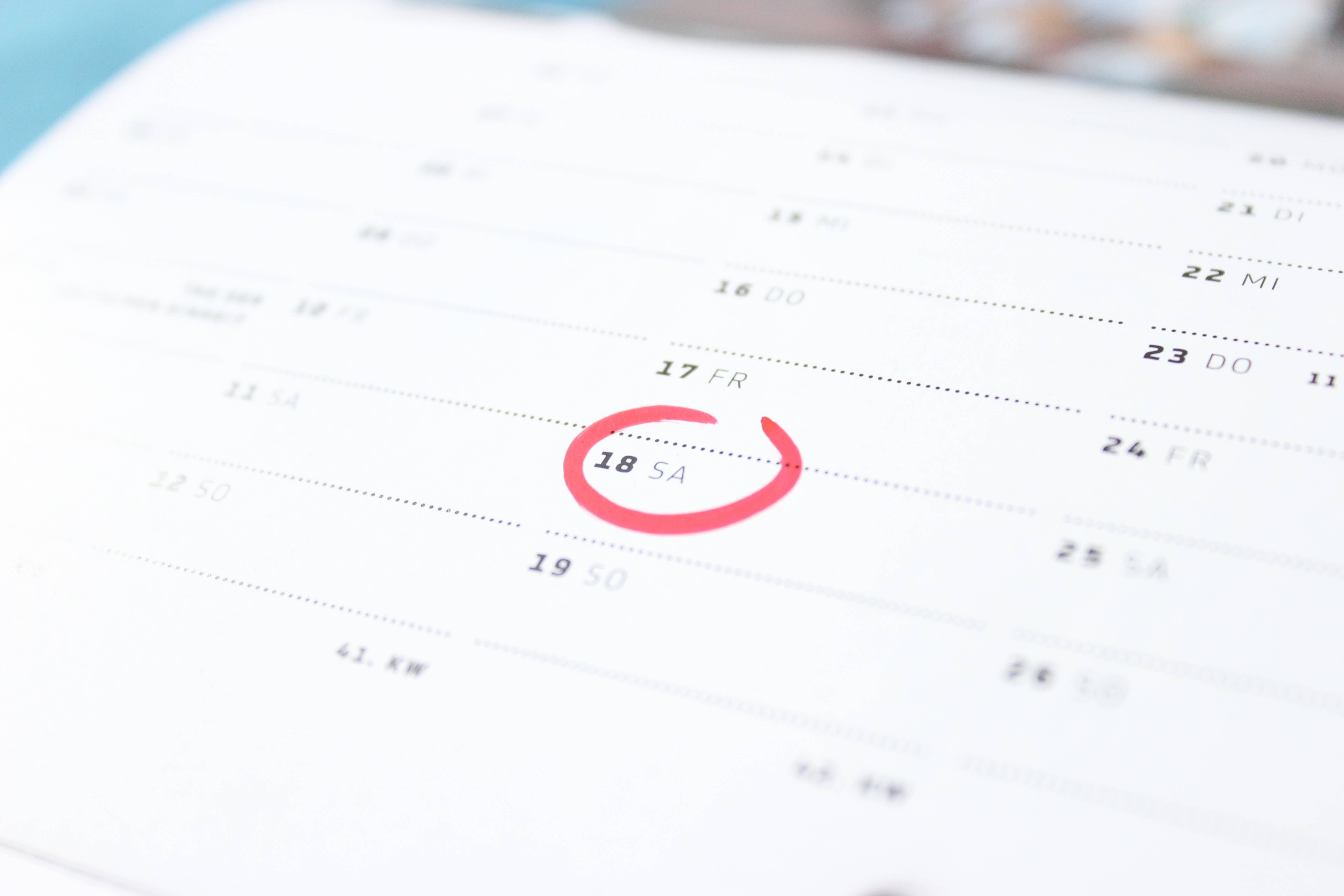 Moving without Movers - Decide on the date