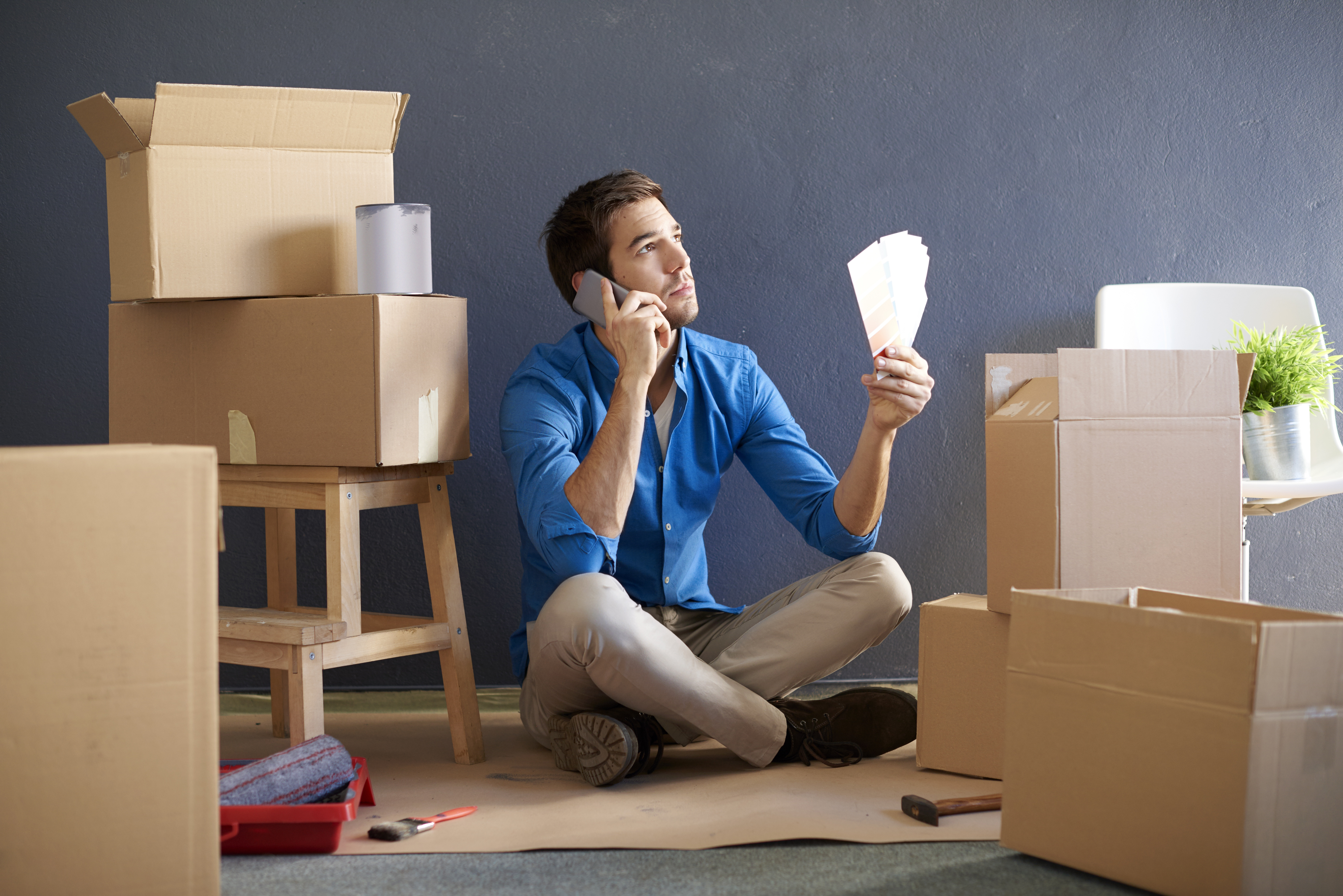 Moving without movers - packing material