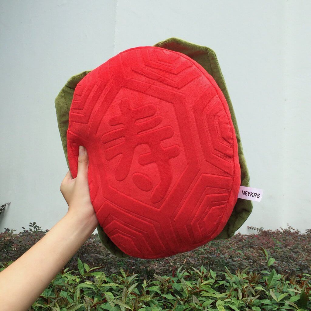 Singapore CNY Decoration - Ang Ku Kueh Cushion