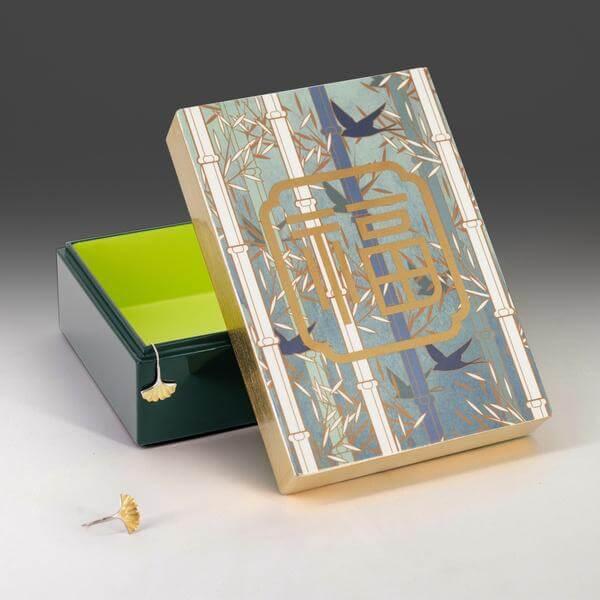 Singapore CNY Decoration - Fu Lacquer Box