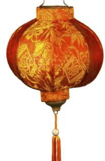 Singapore CNY Decoration - Mason Lantern