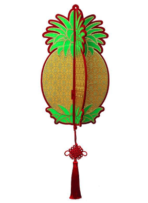 Singapore CNY Decoration - Pineapple Lantern