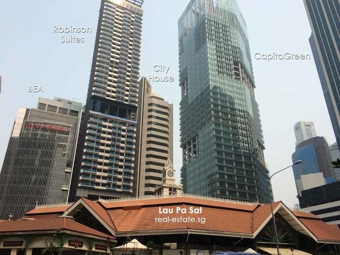 Studio Apartment Singapore - Robinson Suites
