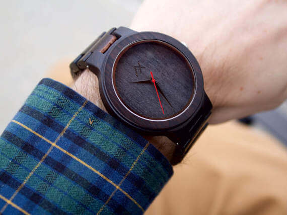Valentine's Gift for Husband - Wooden Watch