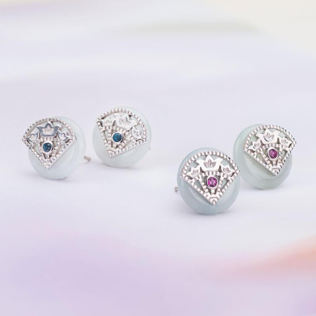 Valentine's Gift for Wife - Girlfriend - Choo Yilin Jade Earring
