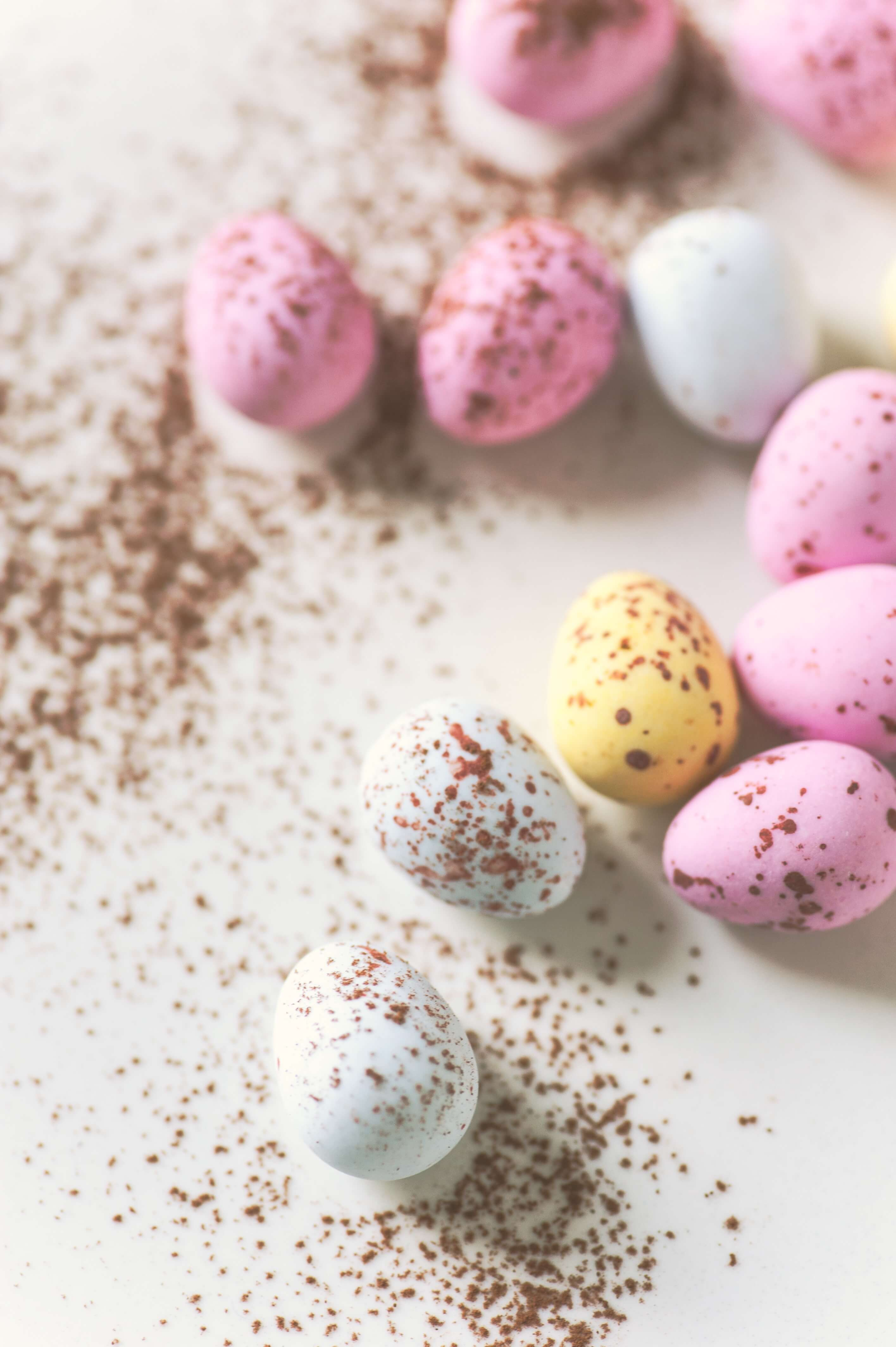 Easter activities with kids - chocolate eggs