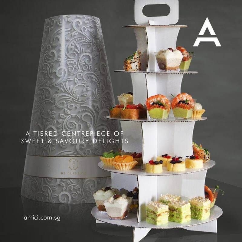 Canape catering Service Singapore - Amici