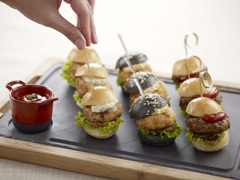 Canape catering Service Singapore - TCC burgers