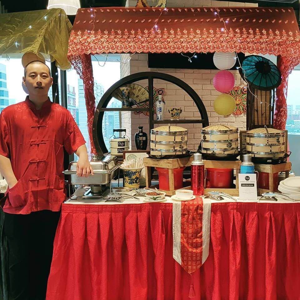 Catering Service Singapore - Oh's Farm Live Station