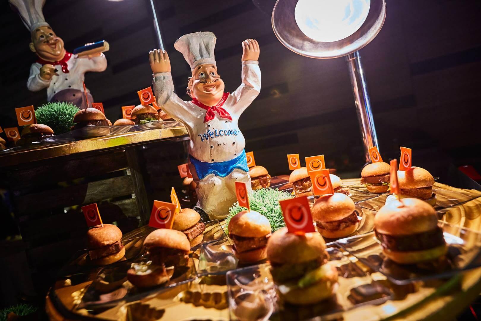 Catering Service Singapore - Orange Clove