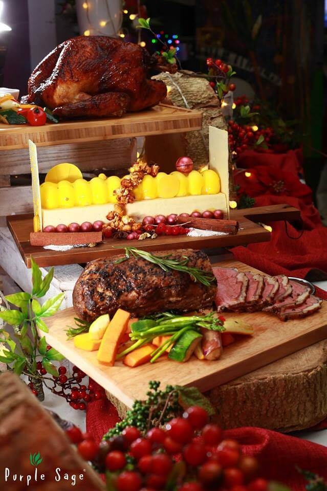 Catering Service Singapore - Purple Sage