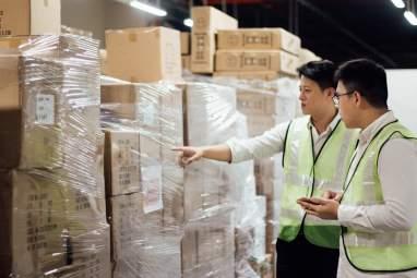 spaceship warehouse business storage