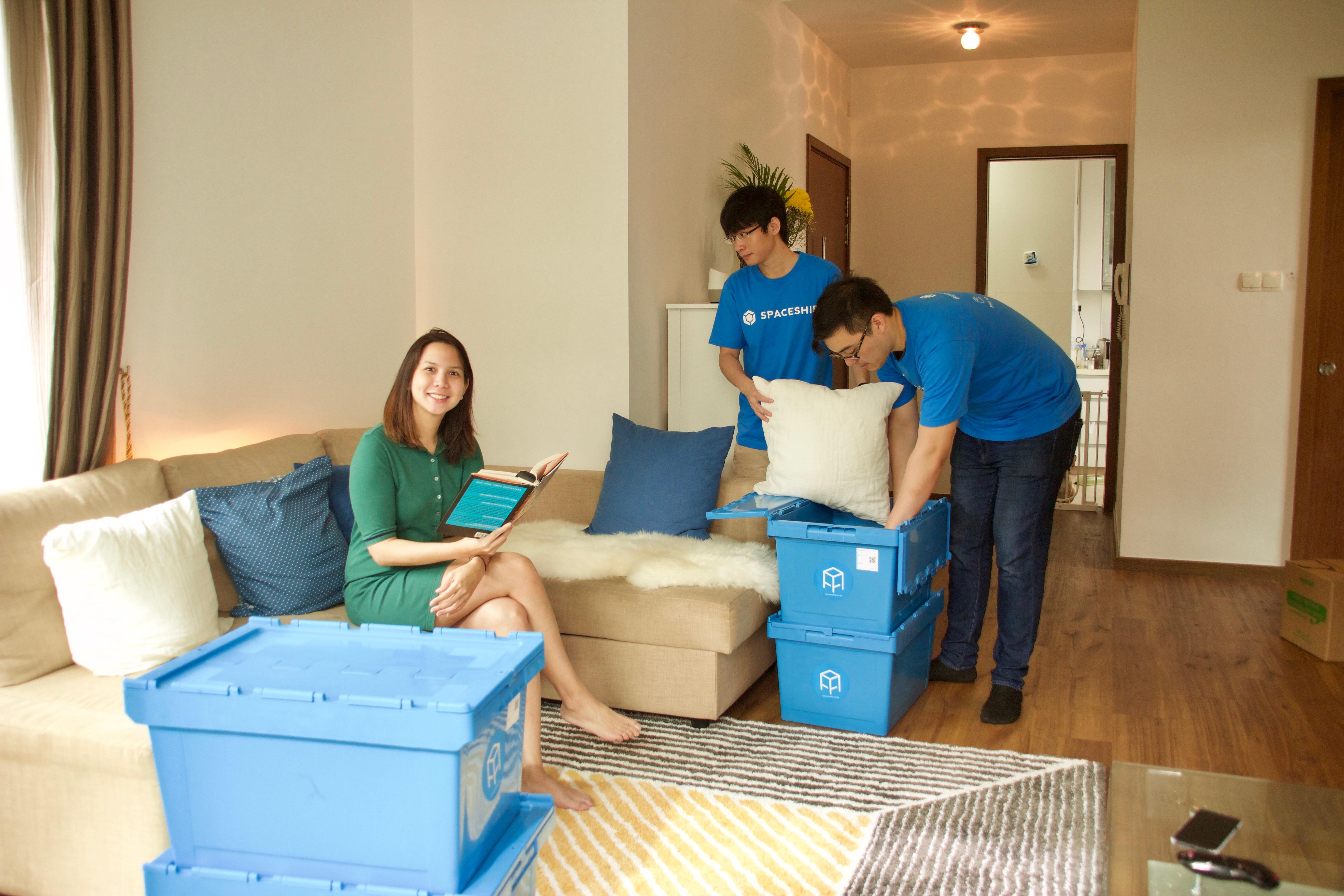 Moving without movers - moving day