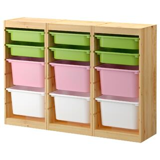 Children Storage - Colored Ikea Frame.jpg