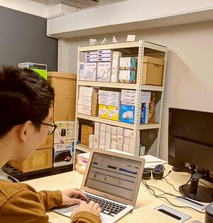 Coworking Space With Storage Space