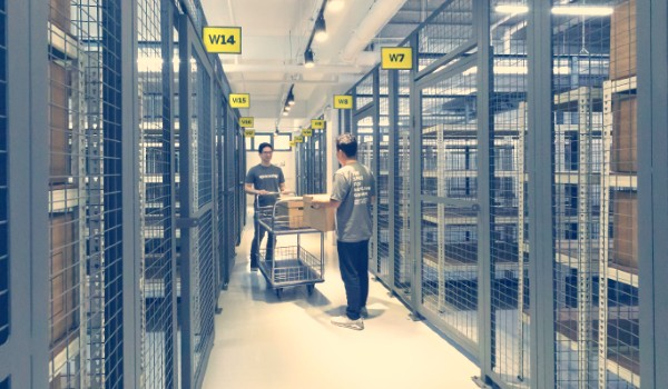 Warehouse storage space for rent in Singapore