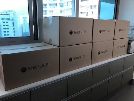 Spaceship boxes 3