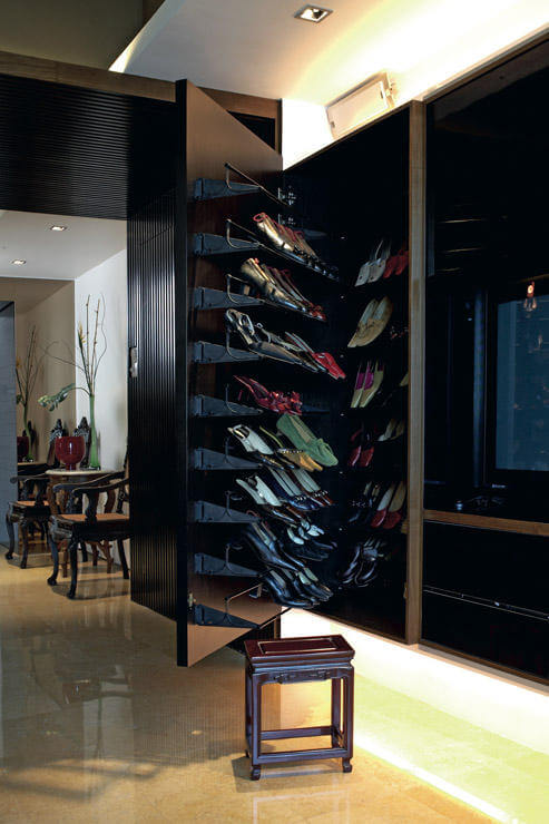 Storage Space in Interior Design - Shoe storage