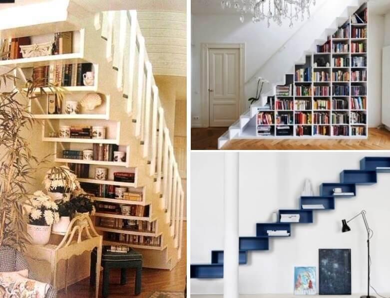Storage Space in Interior Design - Storage under staircase 2