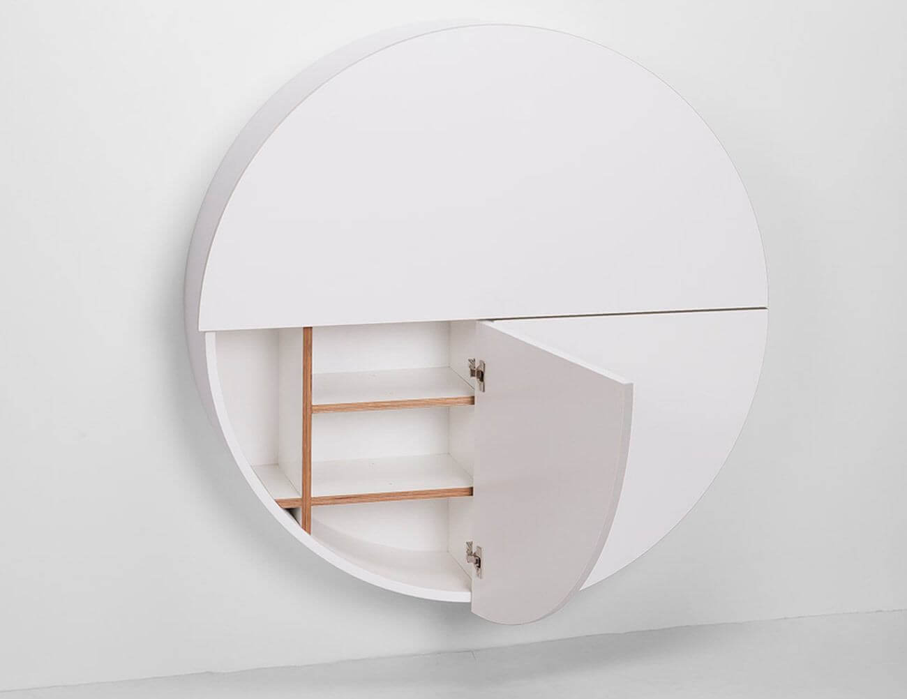 Storage Space in Interior Design - Wall-mounted table 2