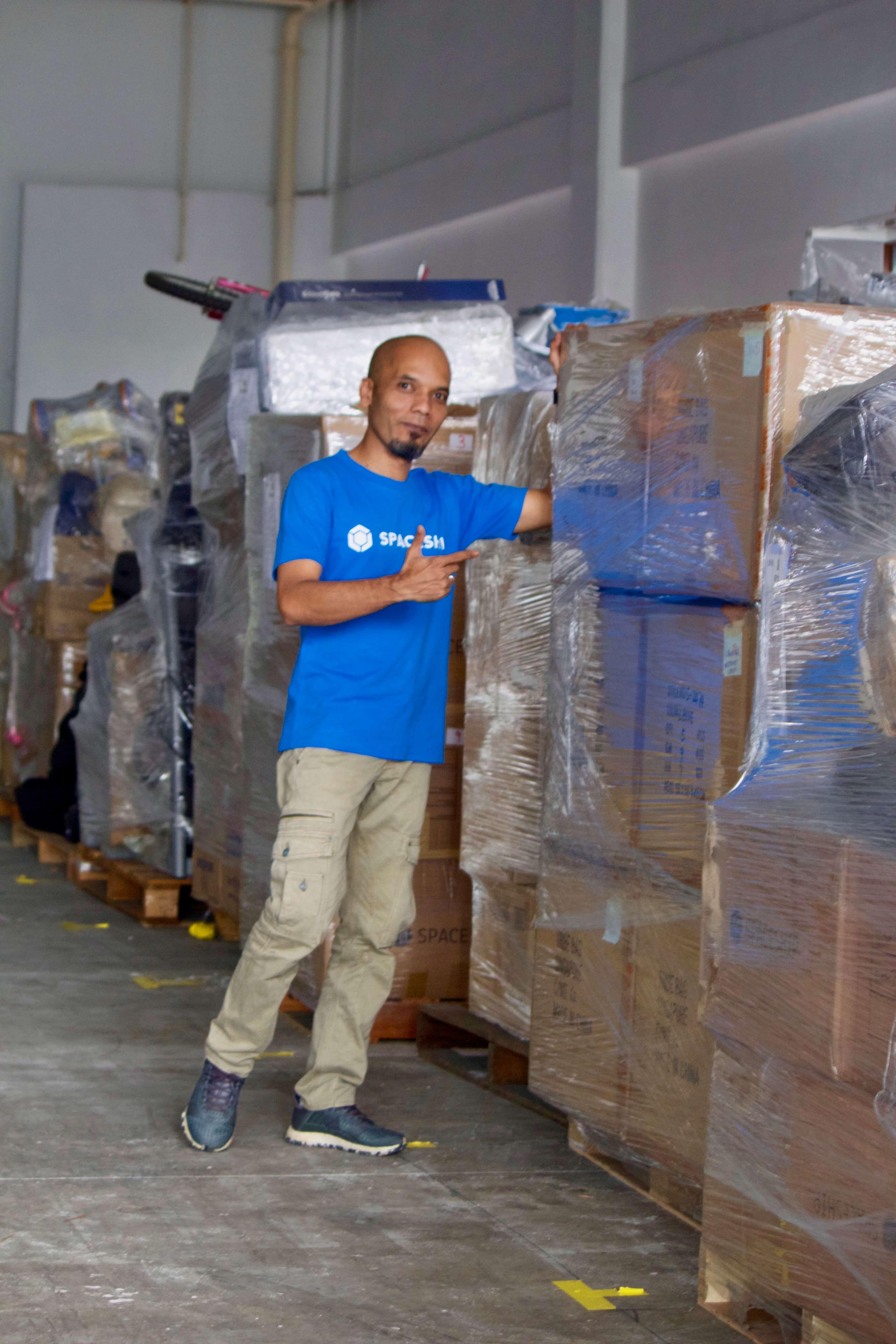 Zanial - Warehouse head of security