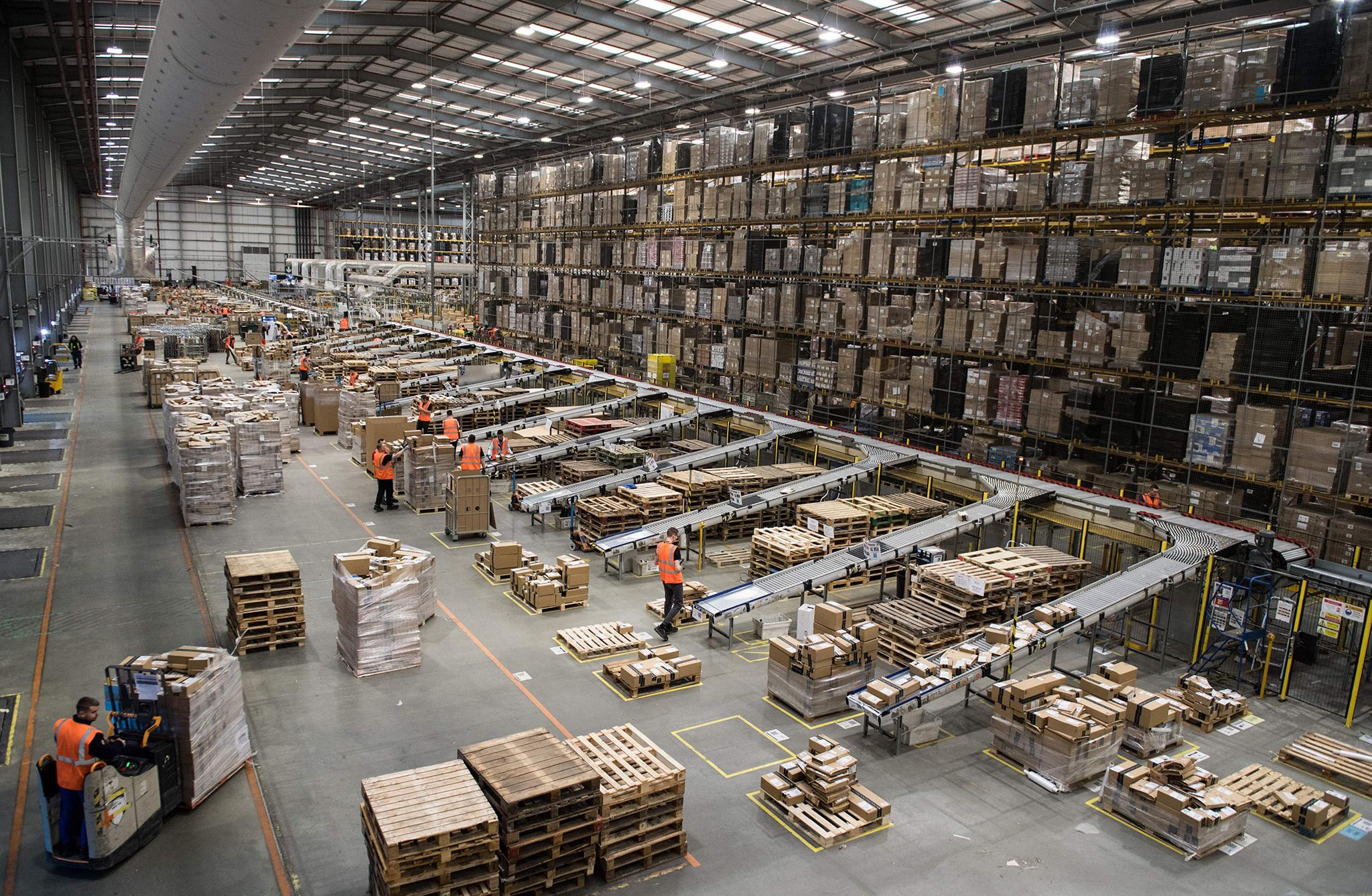 Amazon Serviced Warehouse