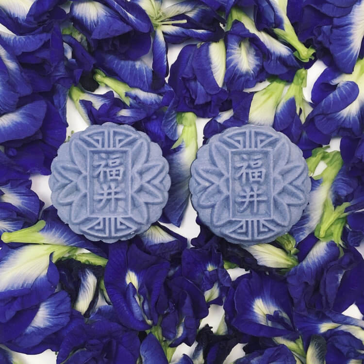 mooncake festival singapore 2018 - baker's well earl grey lavender mooncake