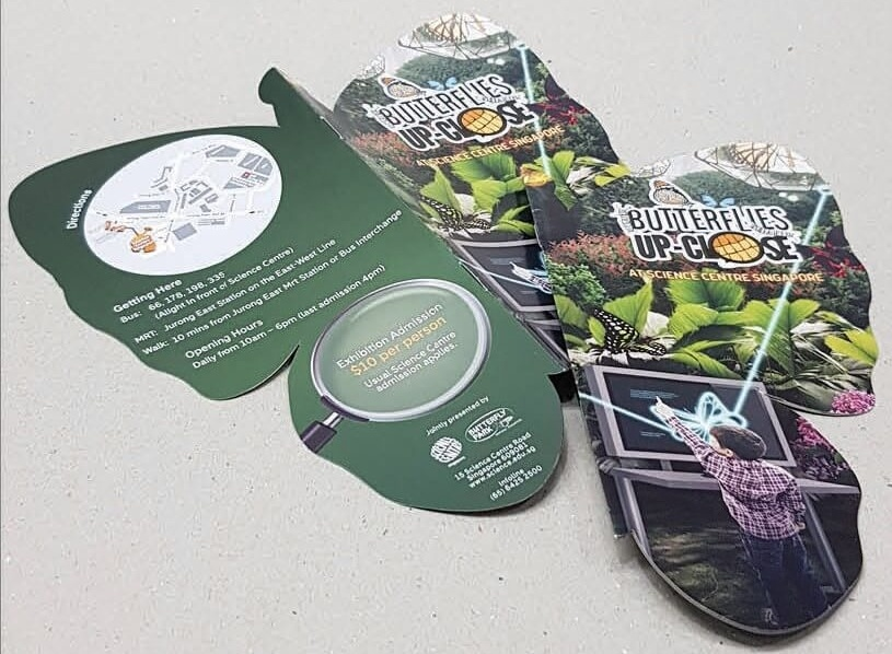 printing services singapore - oxford graphic leaflet