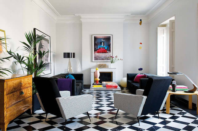 renovation style 2019 singapore - patterned flooring