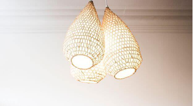 sustainable renovation design 2019 singapore - paper lamp