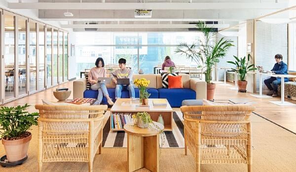 wework coworking space unsuitable for small businesses