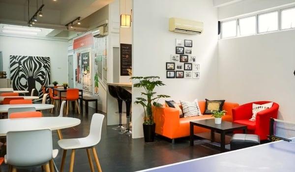young startups hotdesks coworking space smartspace