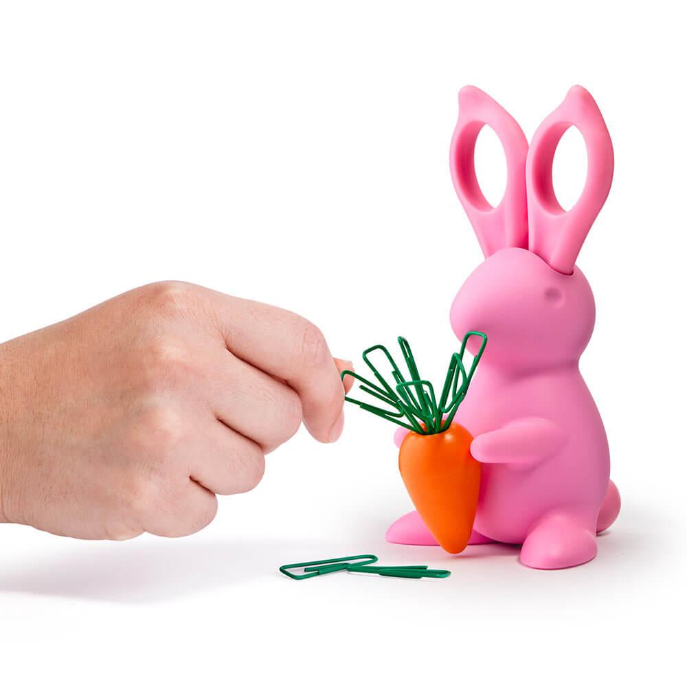 Organizing Tips - Desk Bunny Scissors