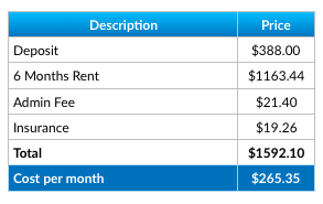 Extra Space Self Storage Price