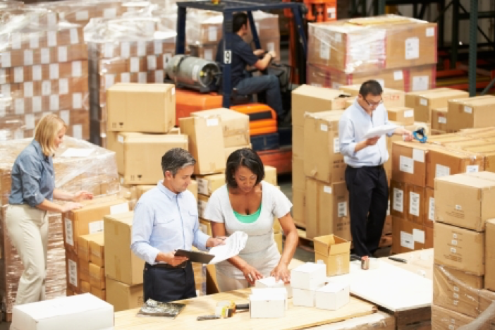 Warehouse for e-commerce retailers