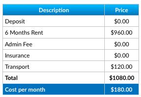 Spaceship Storage Price
