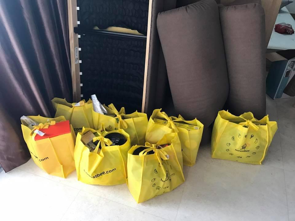 honestbee bags