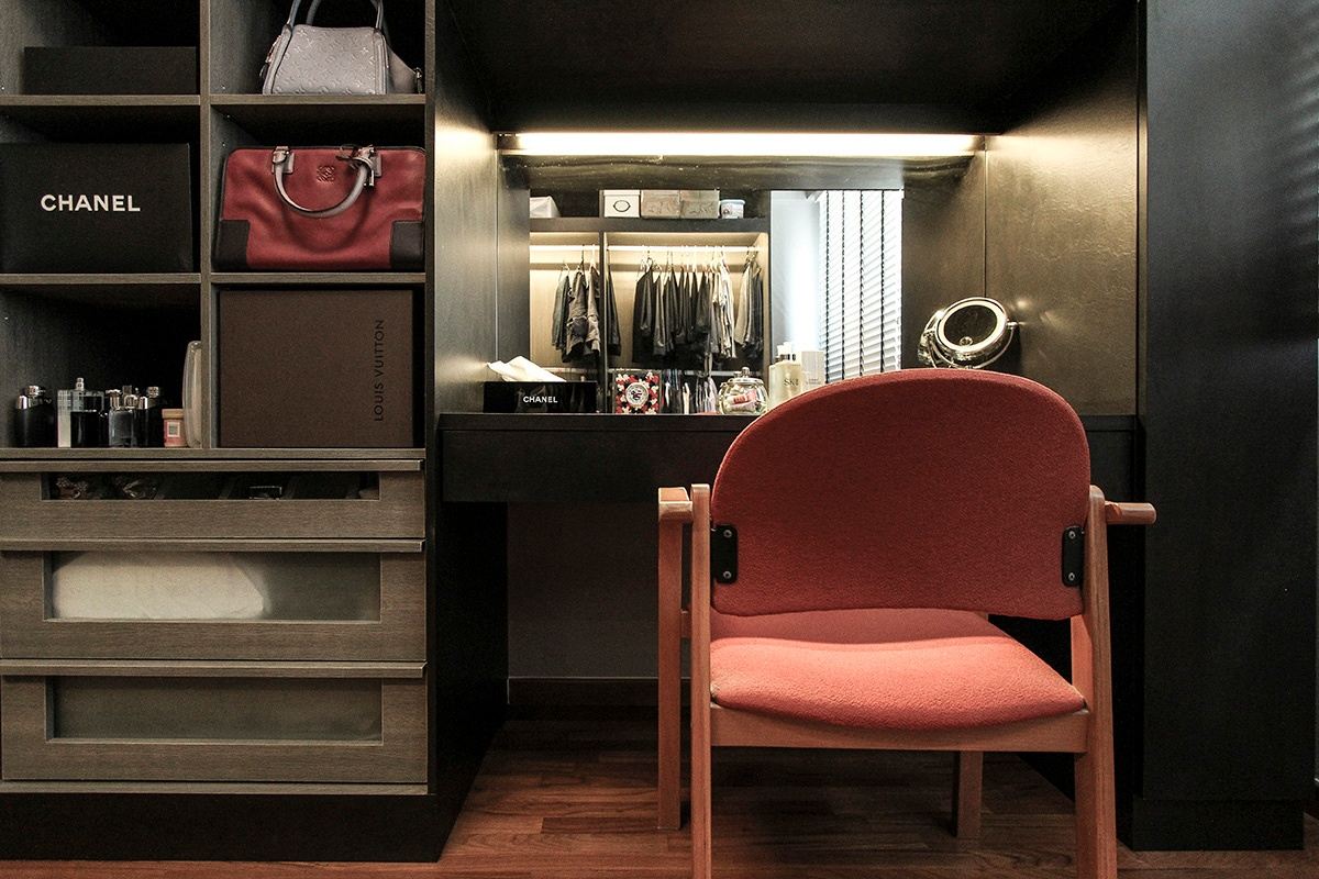 icon interior design 264A Punggol - Wardrobe1