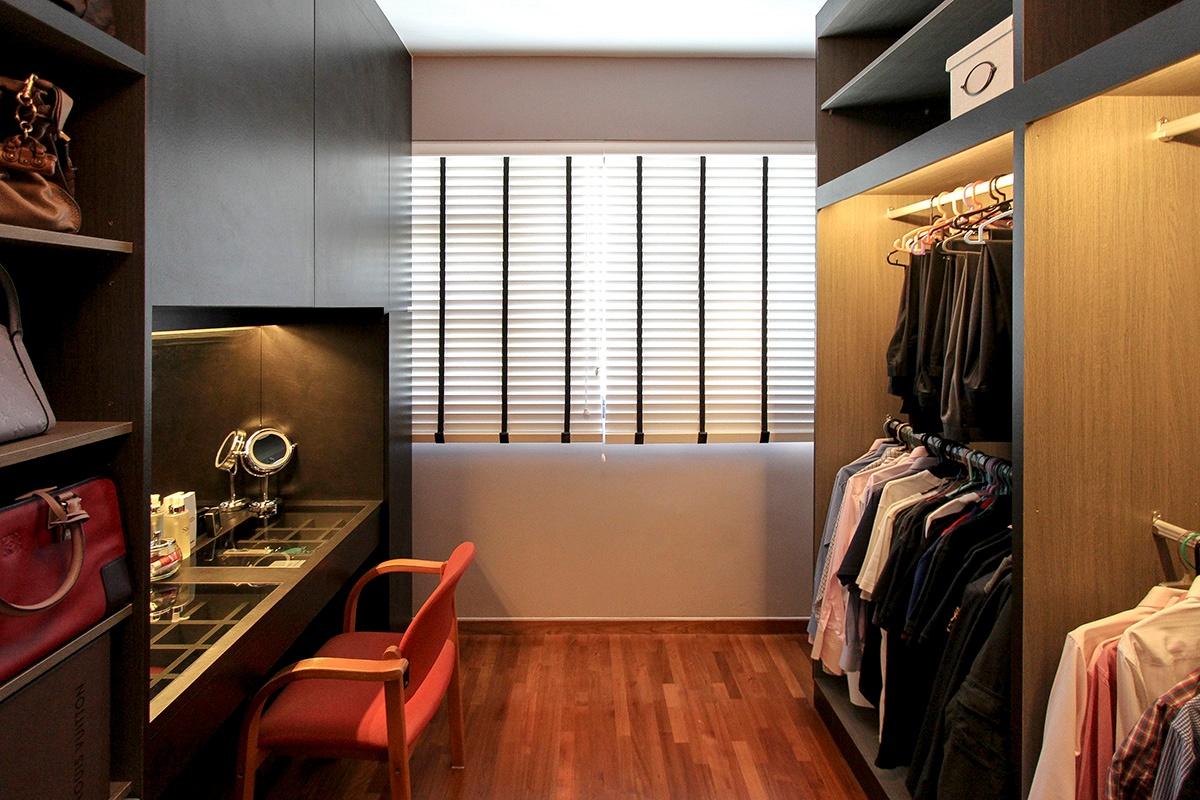 icon interior design 264A Punggol - Wardrobe3