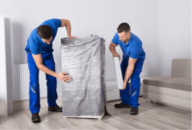 mover wrapping item